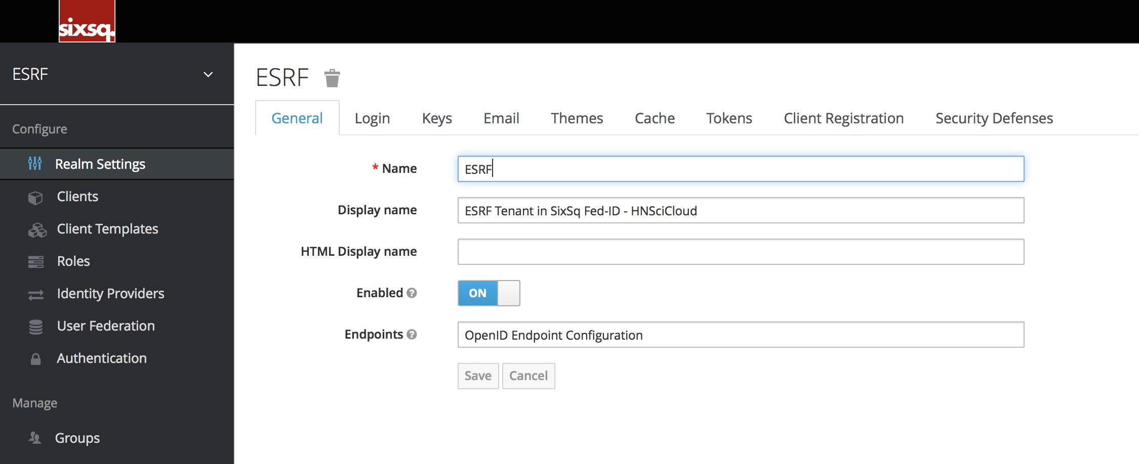 KeyCloak Administration — Rhea Hybrid Cloud Documentation D-PIL-3 2
